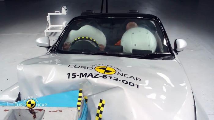 Mazda MX-5 – самый безопасный родстер. Наконец, в прошлом году в Euro NCAP обратили особое вни
