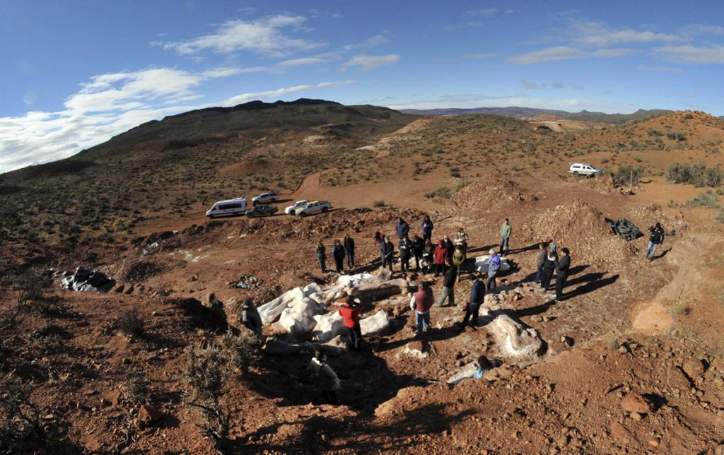 В Аргентине нашли останки титанозавра