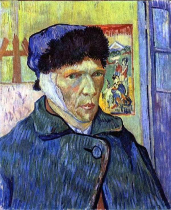 Ван Гог отрезал ухо после новости отом, что его брат женится