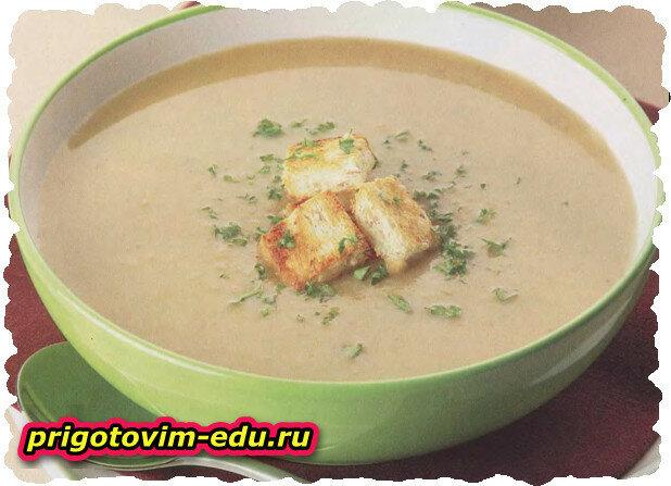 Грибной суп «Бархатный»