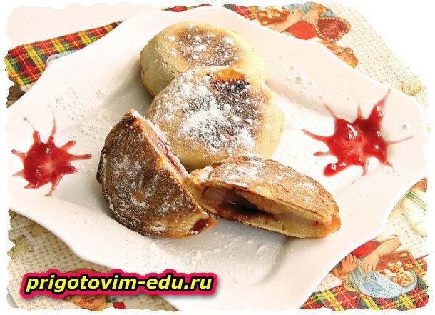 Грушевое печенье приготовленное в мультиварке