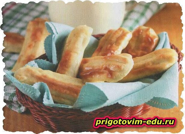 Картофельные палочки запеченные