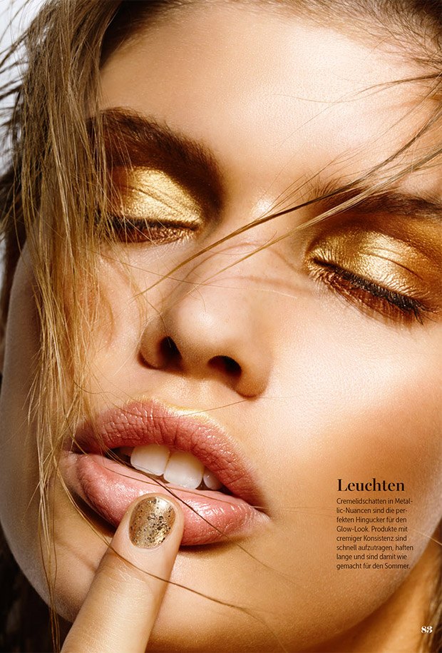 Maja Darving for Maxima Magazine by Frauke Fischer