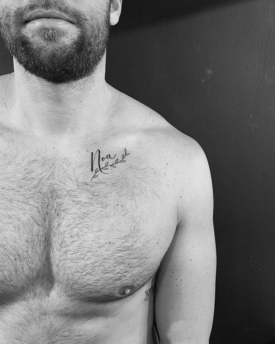 Powerful Black Minimalist Tattoos