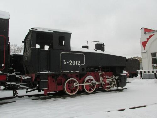 Танк-паровоз серии Ь