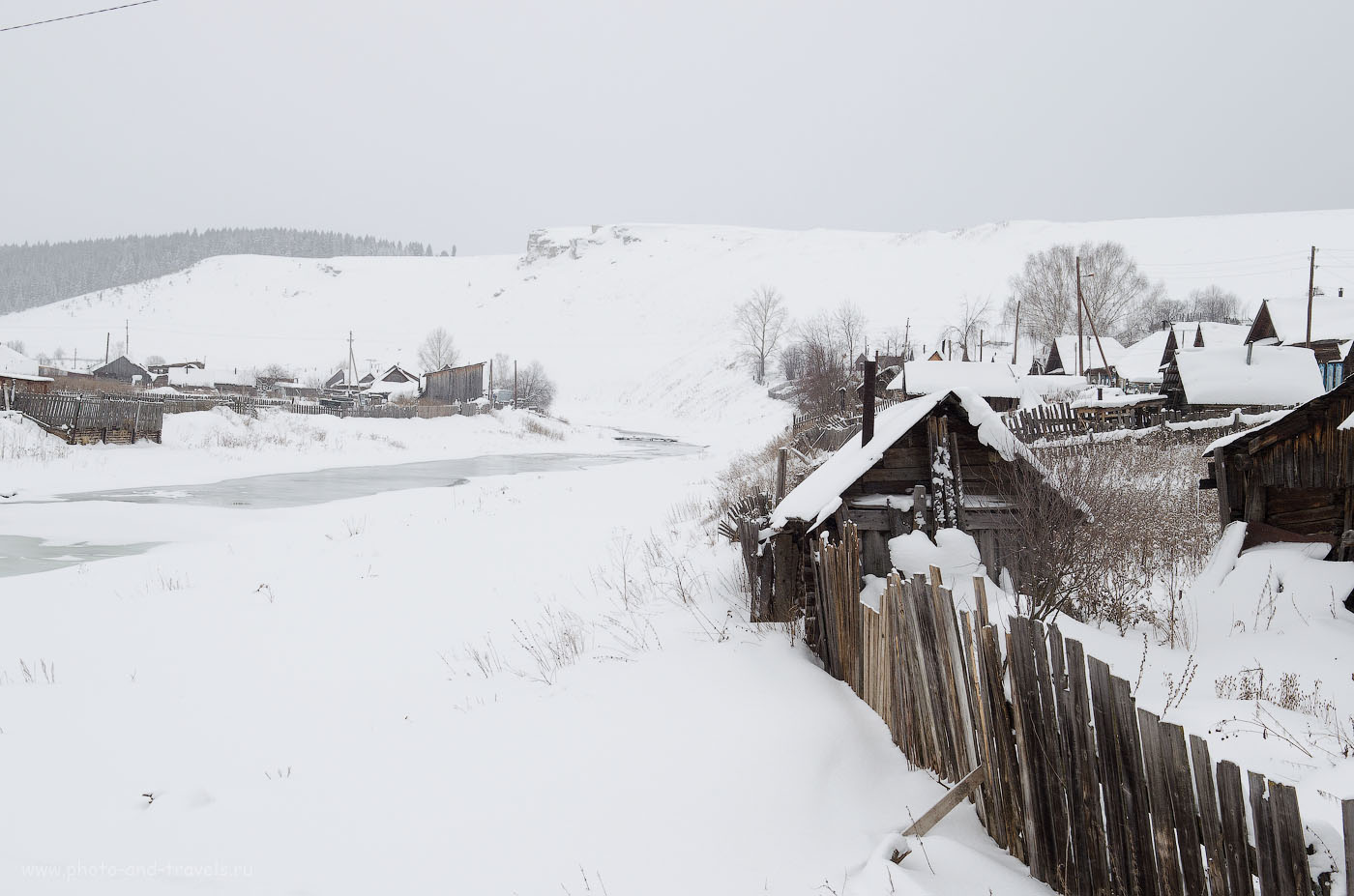 Фотография 31. Пример съемки зимнего пейзажа на камеру Nikon D5100 с объективом Nikon 17-55mm f/2.8.