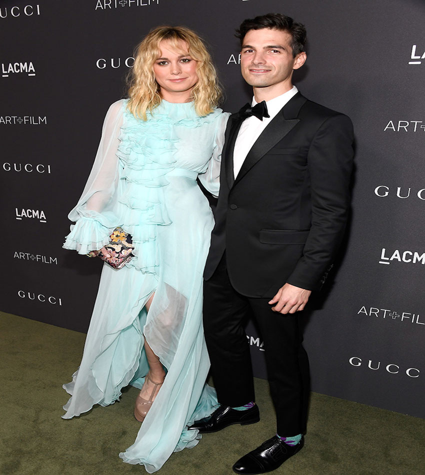Brie Larson - Alex Greenwald - LACMA Art + Film Gala 2016