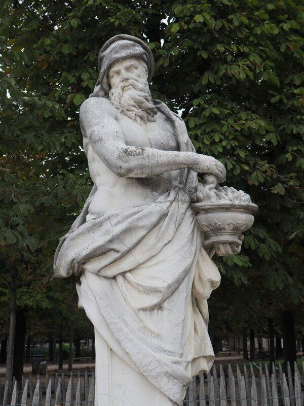 Париж, Сад Тюильри (Paris, Jardin des Tuileries)
