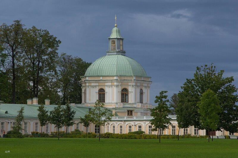 Церковный павильон Меншиковского дворца