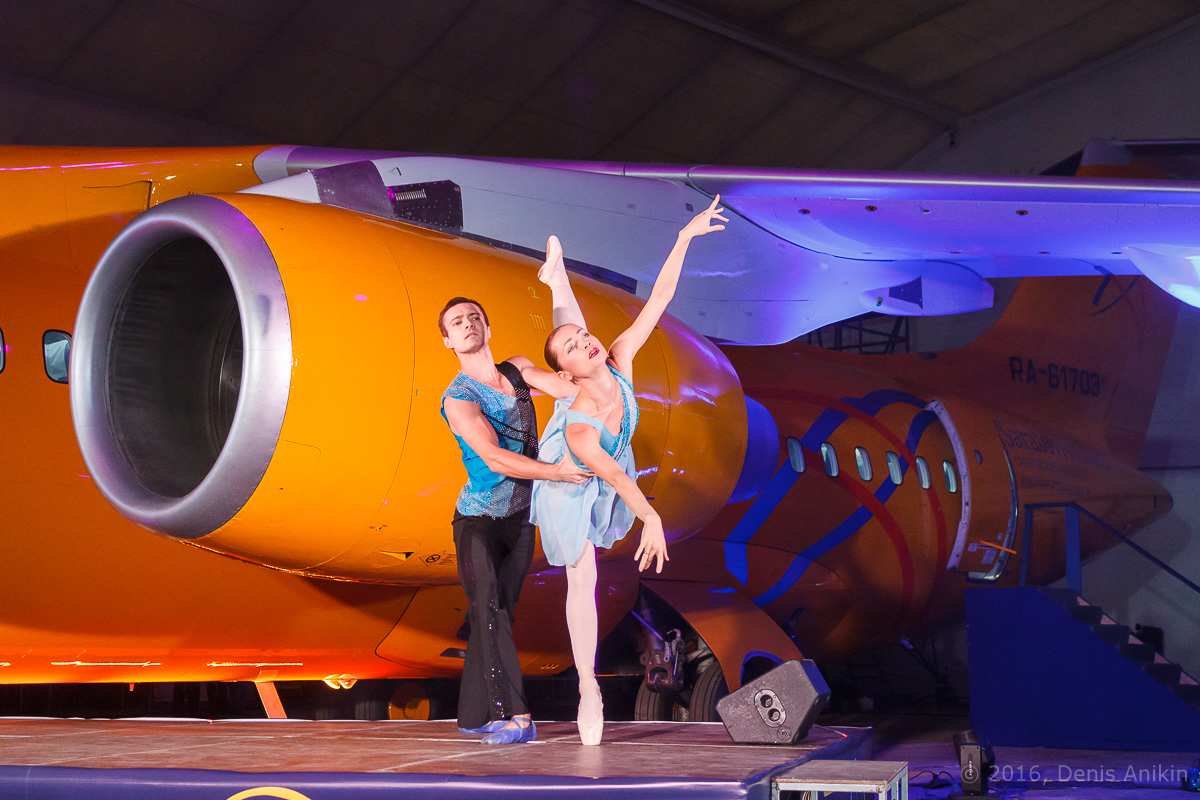 балет самолёт презентация ан-148 саратовские авиалинии вера шарипова фото 9