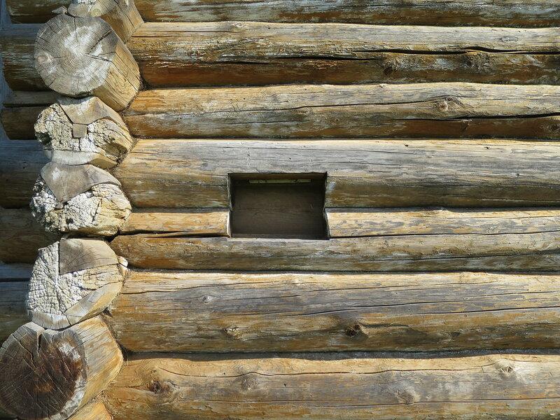 Волоковое окно башни Братского острога