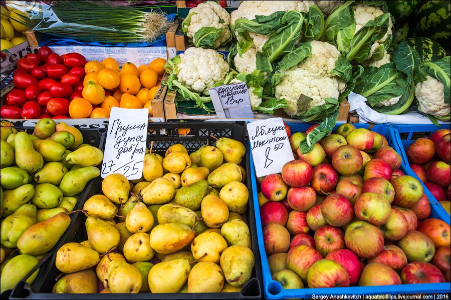 Цены на рынке в Украине