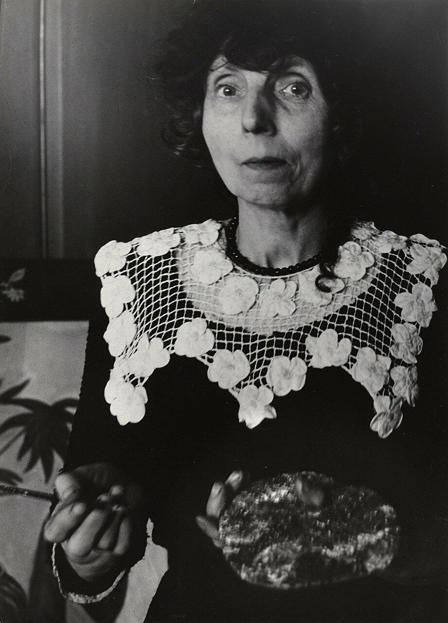 1950. Художница примитивистка мисс Саборди