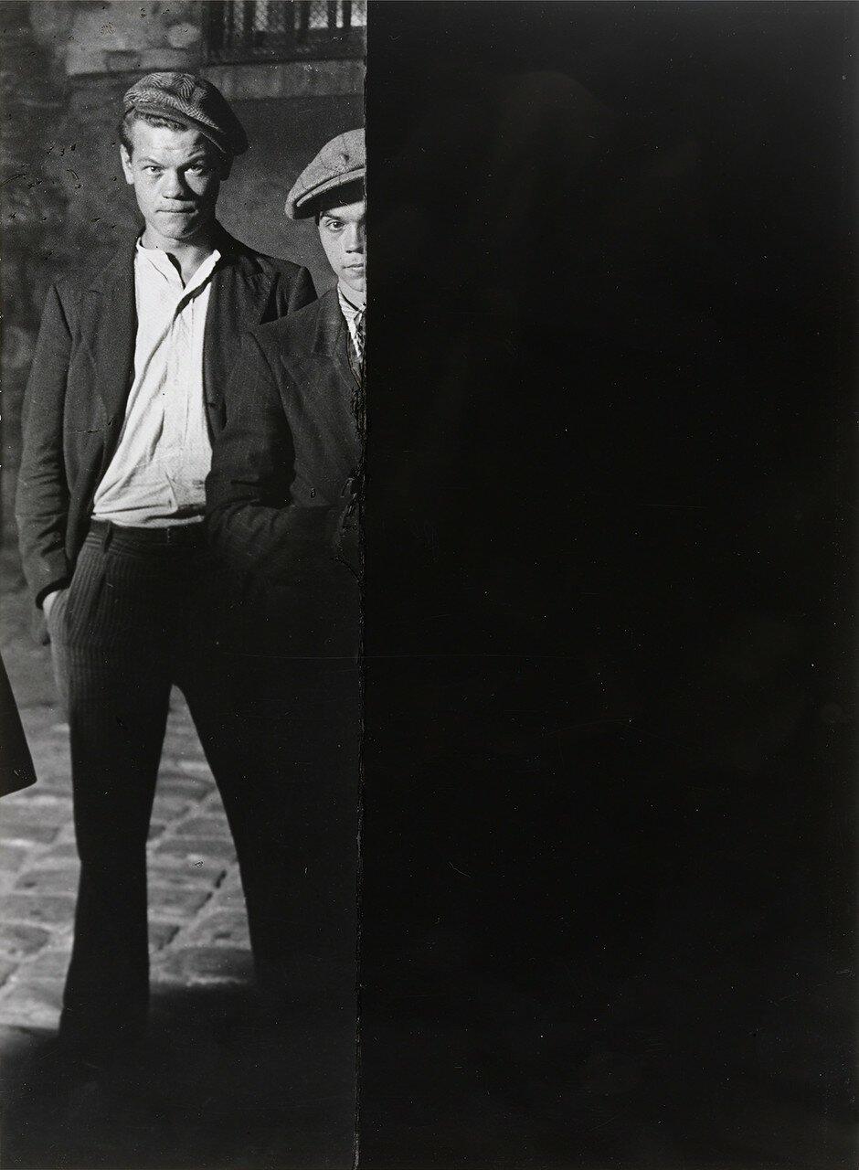 1932. Два бандита из банды Большого Альберта