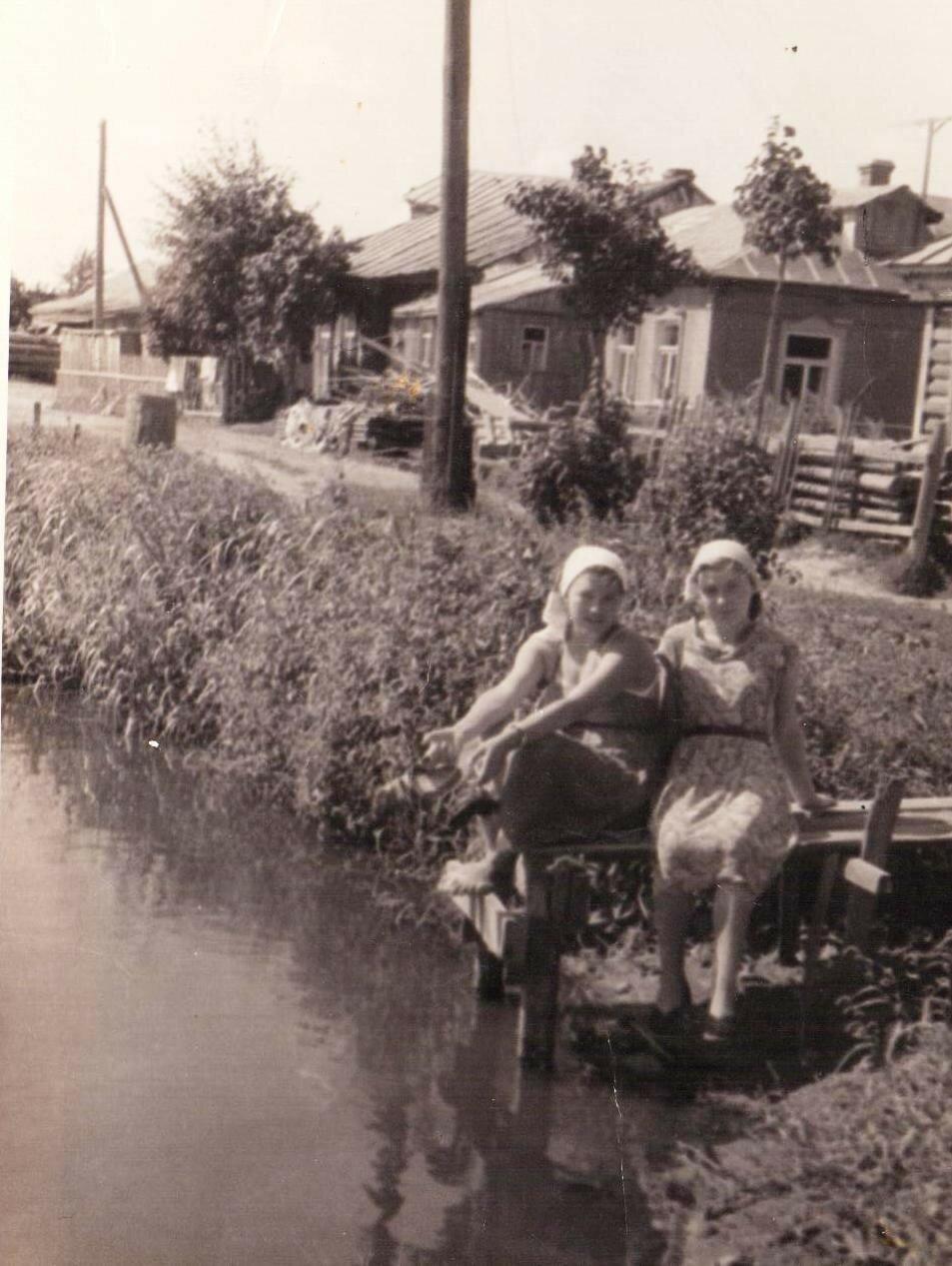 1959. Пожарный пруд в Бирюлёво