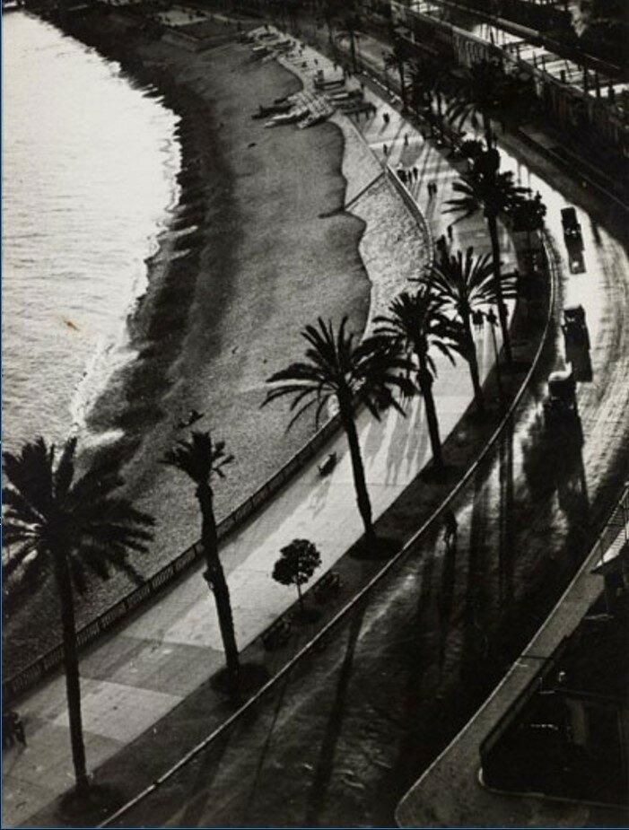 1930-е. Набережная в Ницце
