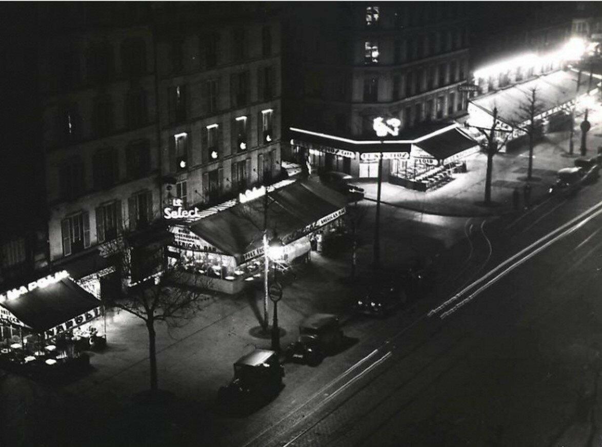 1935. Кафе Монпарнаса