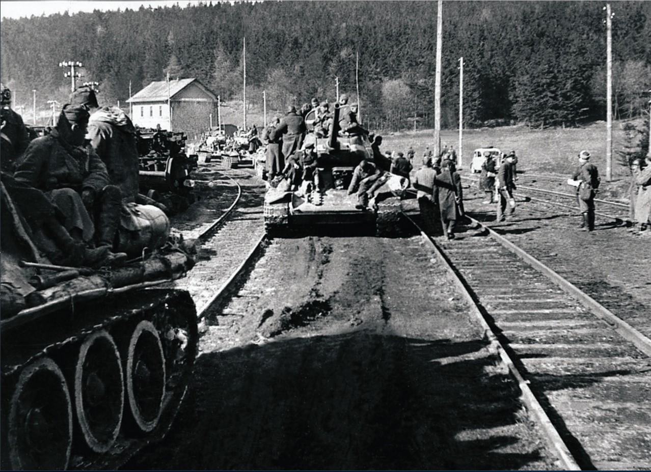 Марш-бросок 63-й Челябинской танковой бригады на Прагу