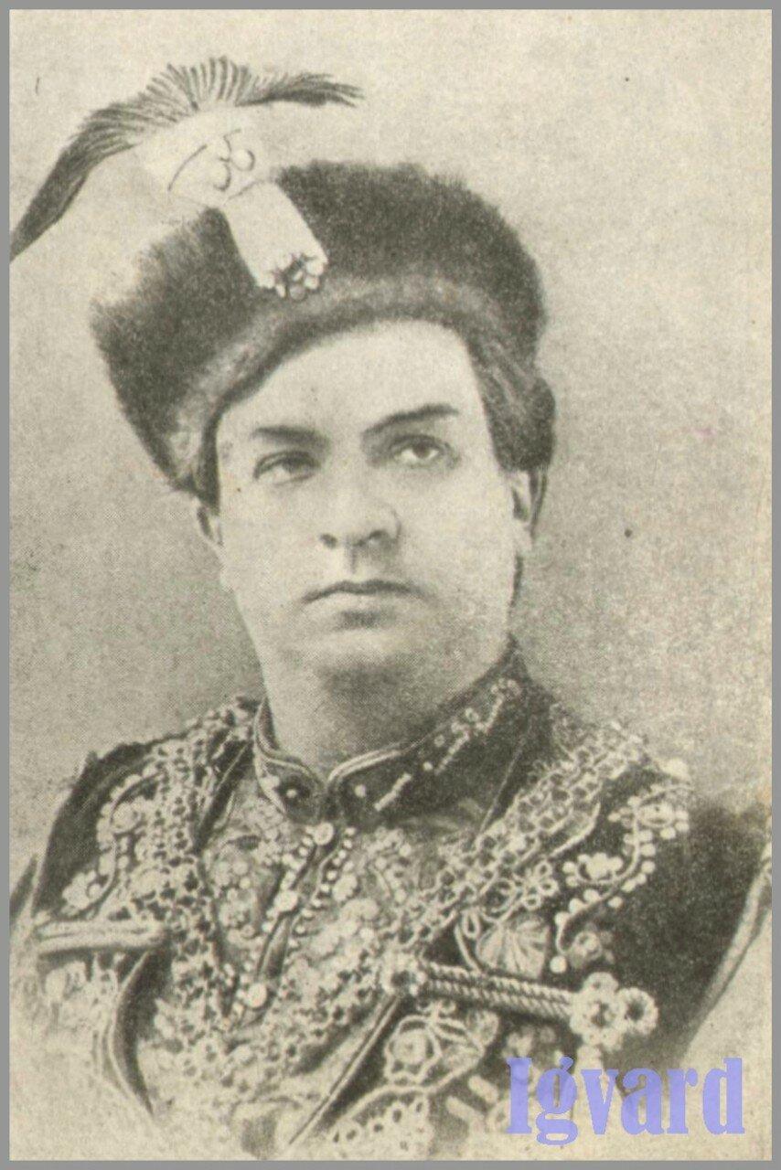И.М.Шувалов в роли Самозванца