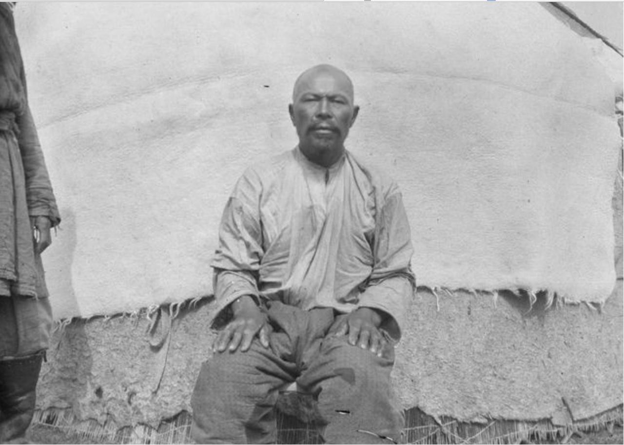 50-летний киргиз Малкубай