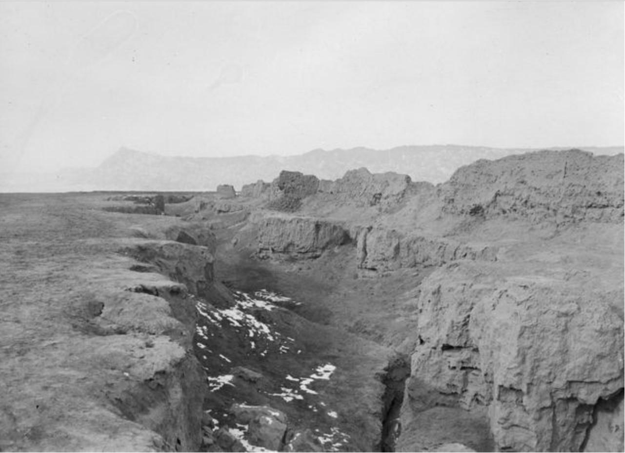 Руины возле села в Кельпине