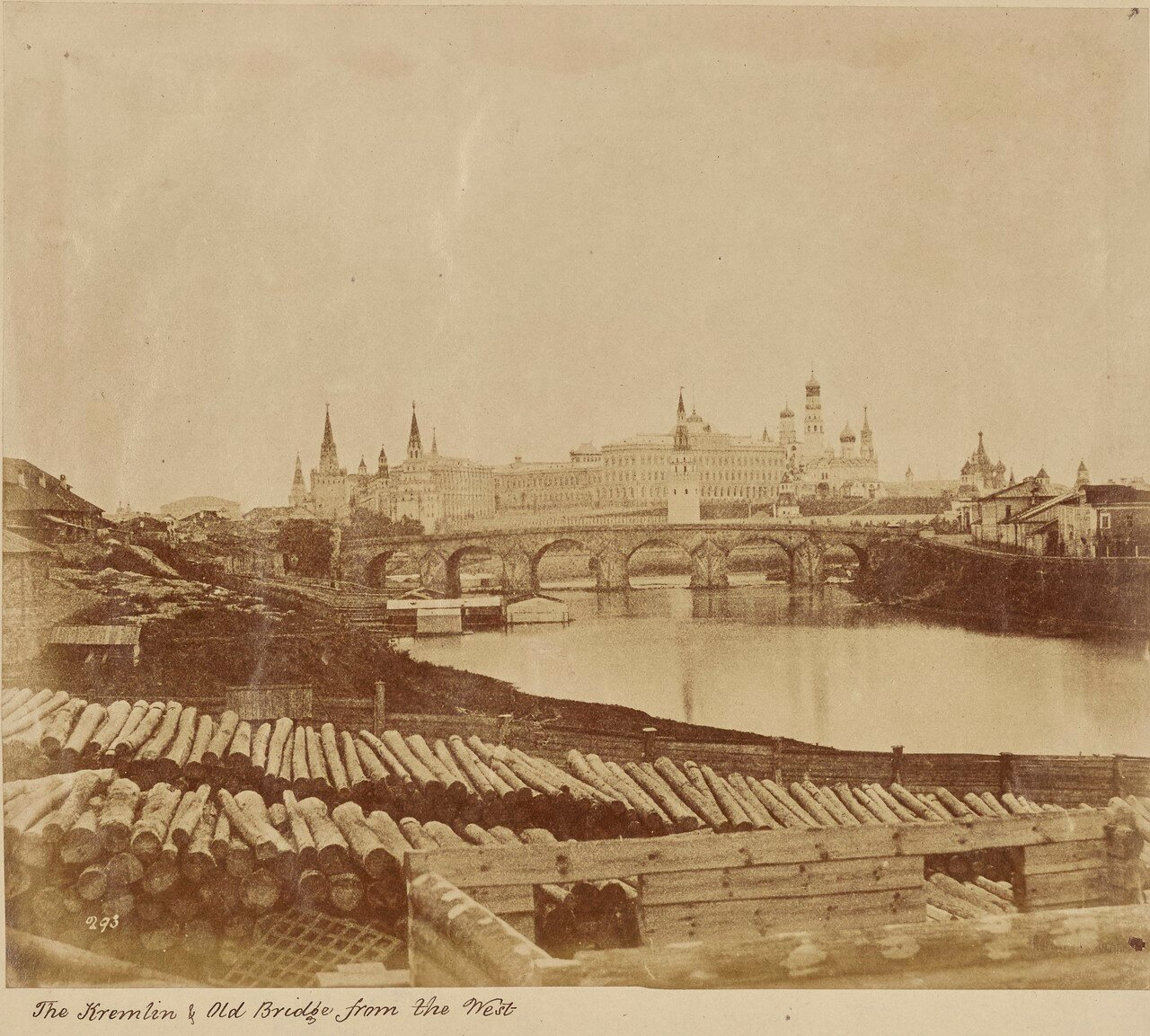 Кремль и Старый мост с запада