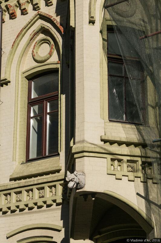 Дом с единорогом - Нащокинский переулок, 8