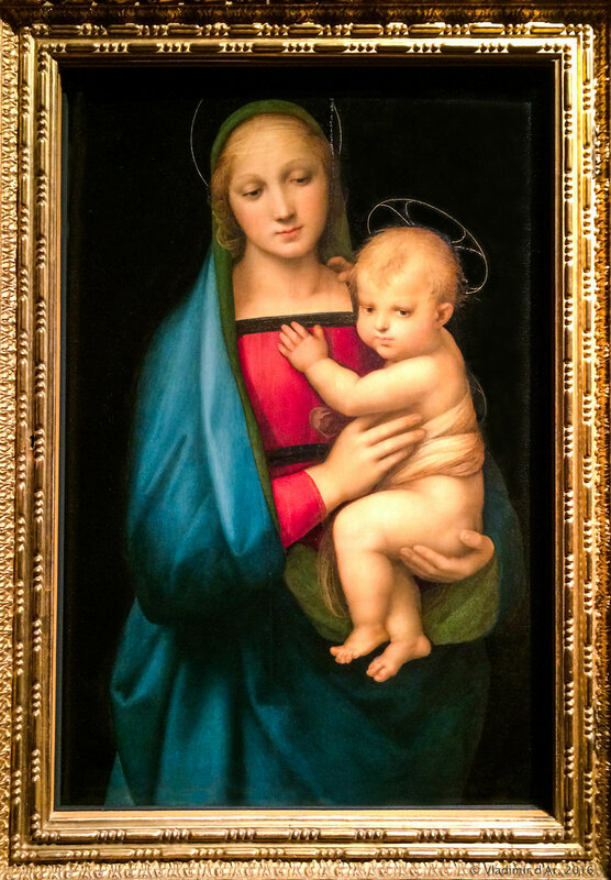 Рафаэль Санти. Мадонна с Младенцем (Мадонна Грандука).