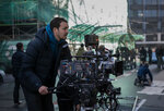 Director Rupert Sanders on the set of Ghost in the Shell from Paramount Pictures and DreamWorks Pictures in theaters March 31, 2017.
