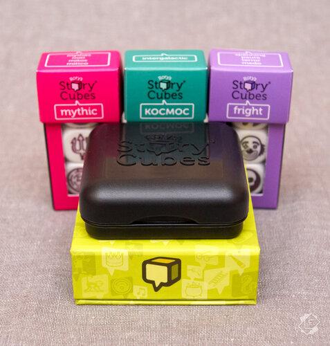 Настольная игра Кубики Историй Рори (Rory's Story Cubes)