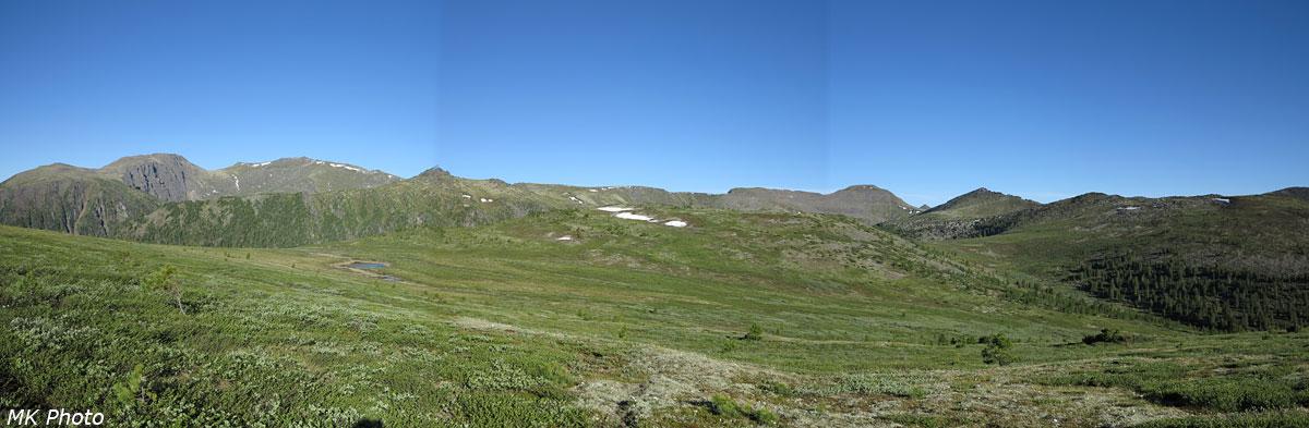Панорама подковы Среднего Солбаха