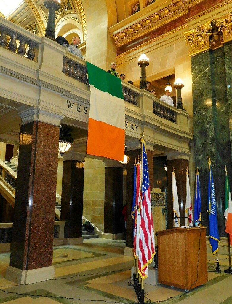 Праздник Ирландии в Капитолии.
