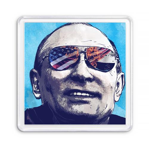 МАГНИТ АКРИЛОВЫЙ / ПРЕЗИДЕНТ РФ (арт. 000273)