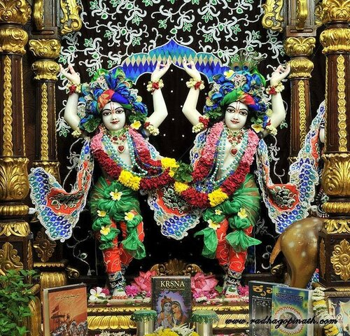 Божество Чоупати, Мумбай, Индия - Шри Шри Гаура-Нитай