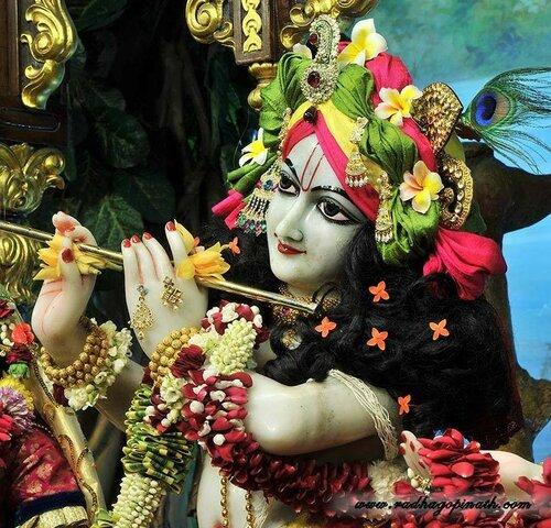 Божество Чоупати, Мумбай, Индия - Шри Гопинатха (Кришна)
