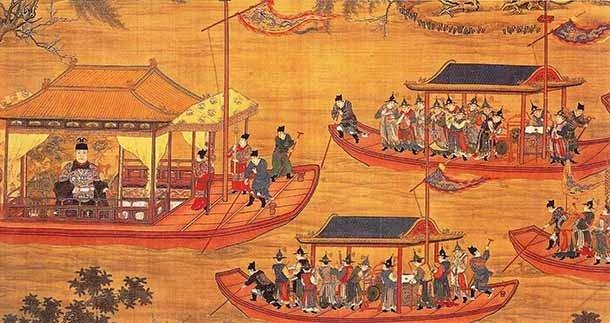 Династия Мин образовалась после падения Династии Юань. Не имея возможности расширяться на север