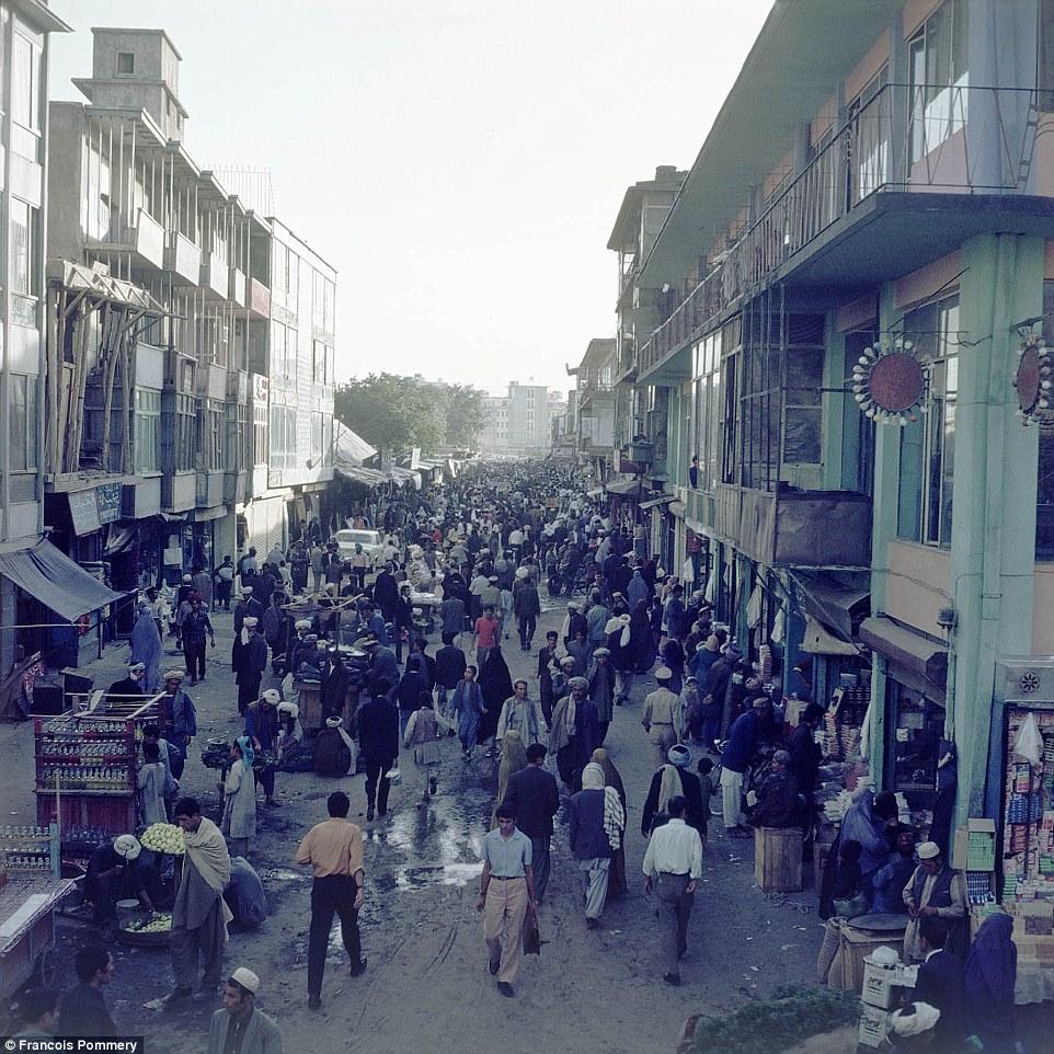 Афганистан в 60-70-е годы на снимках французского фотографа (28 фото)