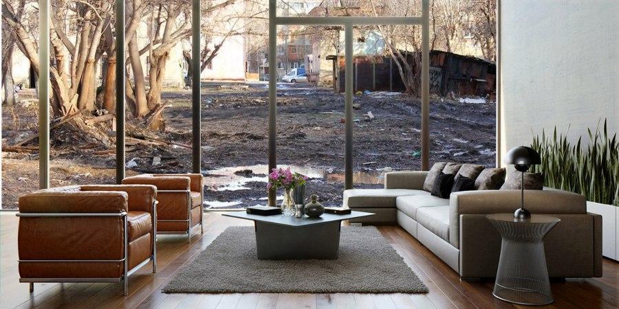 Почему в России не делают панорамные окна в квартирах