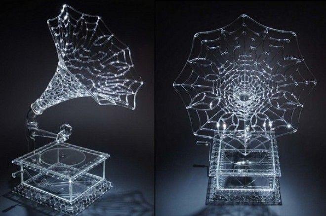 Завораживающие стеклянные скульптуры Роберта Микельсона