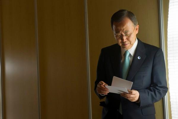 Генеральный секретарь ООН поведал очувстве «Золушки» из-за последнего дня работы
