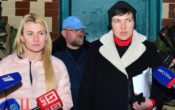 СБУ допросило Надежду Савченко