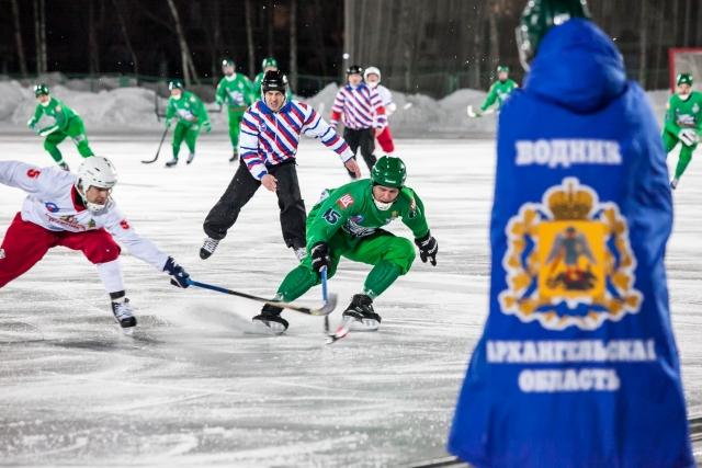 «СКА-Нефтяник» впервый раз вистории завоевал золотые медали чемпионата Российской Федерации побенди