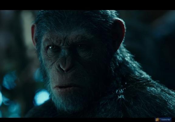 Армия шимпанзе, спецэффекты изрелищные потасовки: вышел трейлер «Планета обезьян: Война»