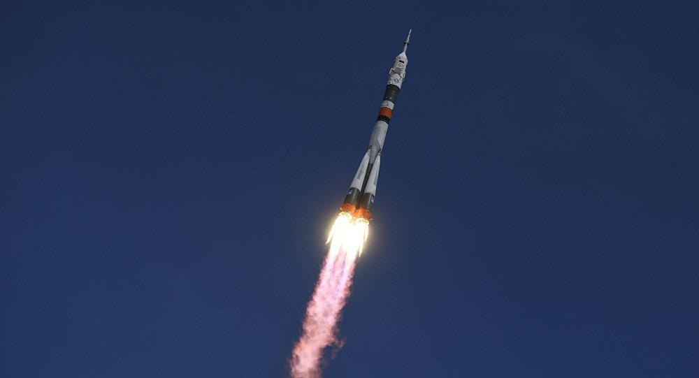«Союз МС-04» сэкипажем МКС вышел наоколоземную орбиту