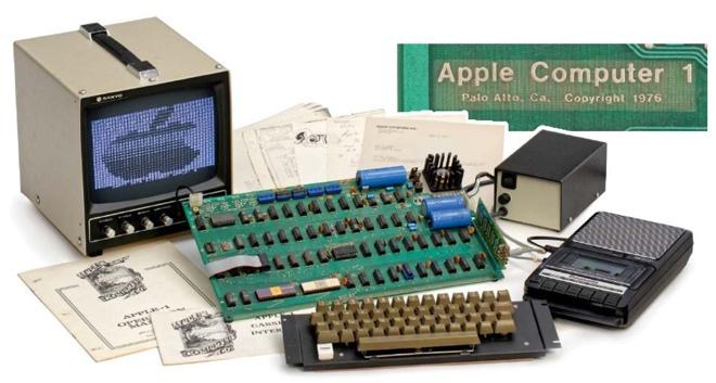Компьютер Apple Iпродали нааукционе за110 тыс. евро