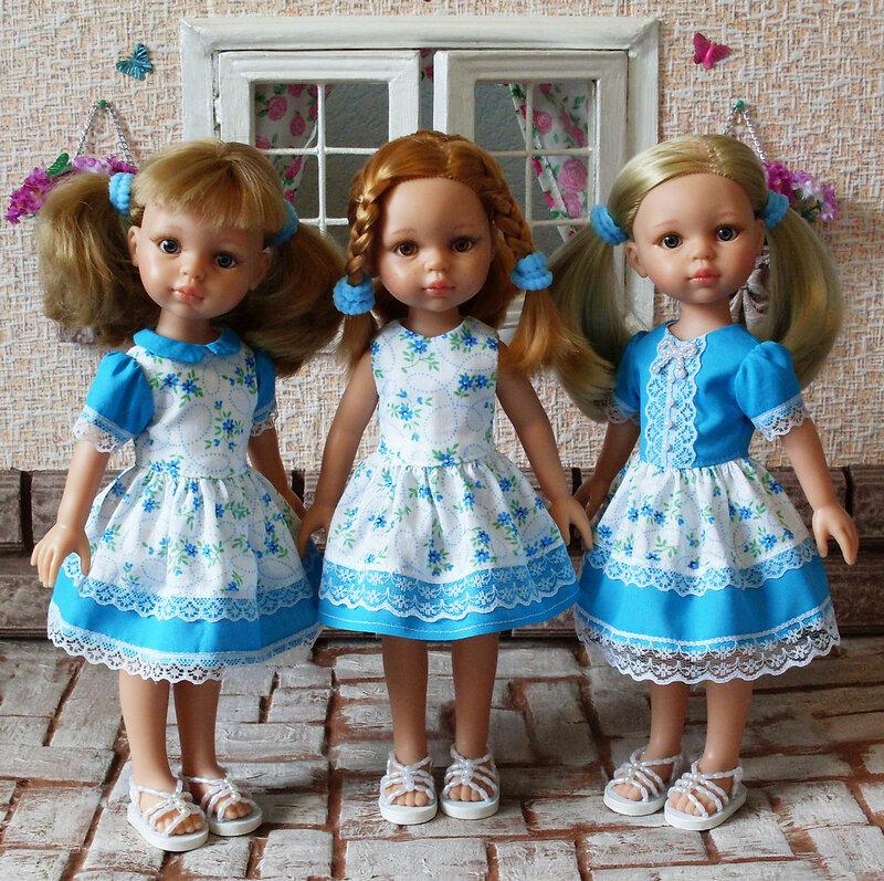 Кукольные наряды своими руками 4