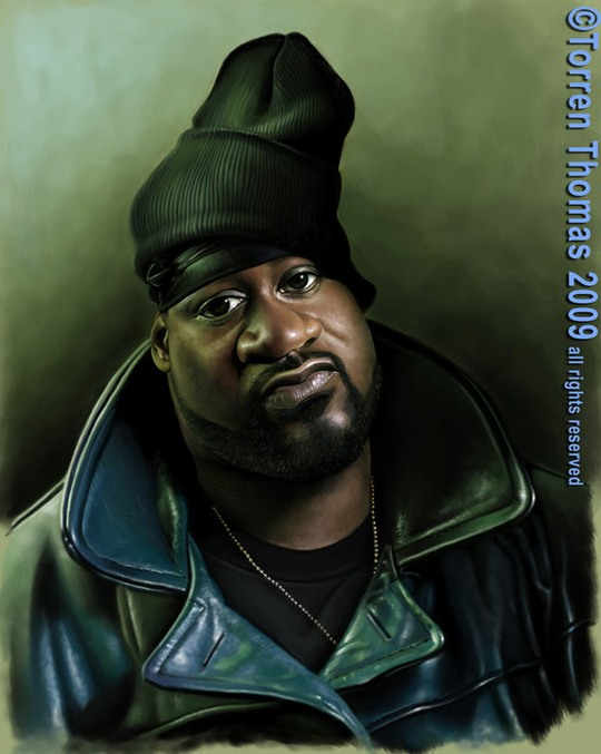 Celebrity Caricatures by Torren Thomas