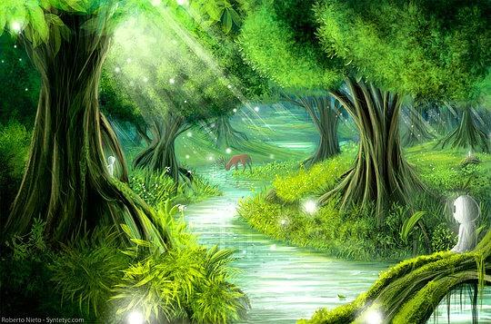 Fantasy Landscapes by Roberto Nieto