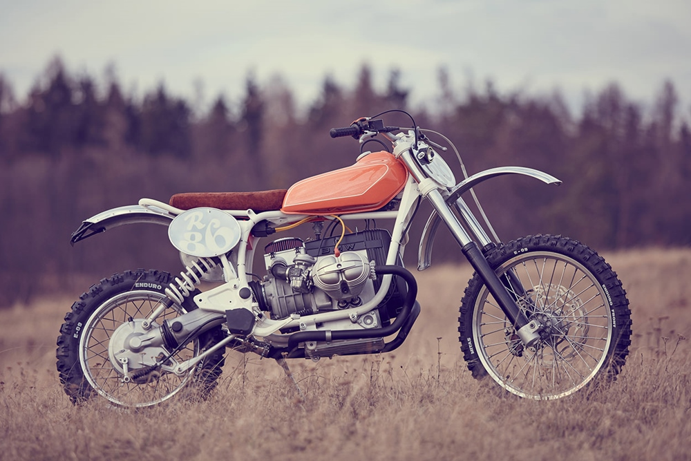 Wang Motorcycles: скрэмблер BMW R80G/S
