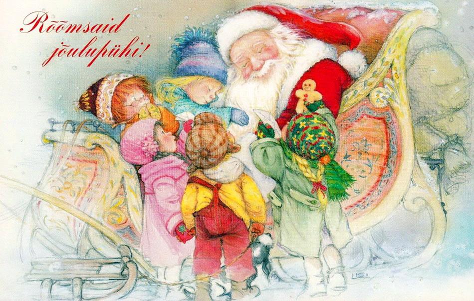 Началом учебного, рождественские детские открытки